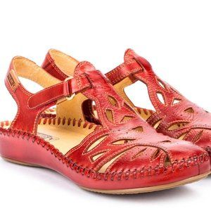 Pikolino P Vallarta Red Coral Leather 8.5-9